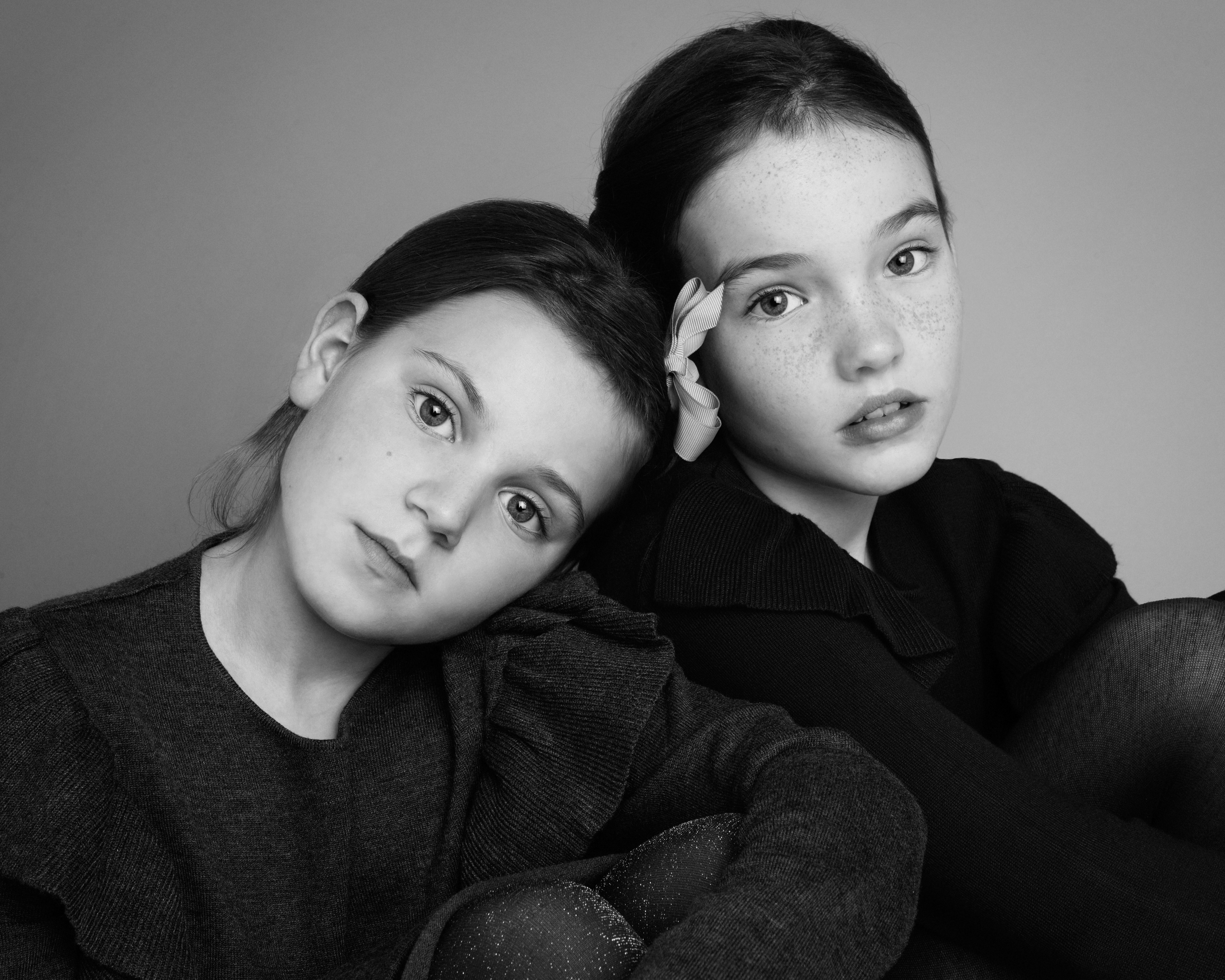 Black and white photography by Veruschka Baudo